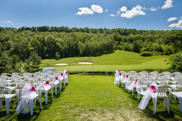 3 Real Wedding: Hot Pink Summer Wedding with DIY Touches