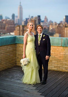 Cynthia Nixon's Wedding Dress