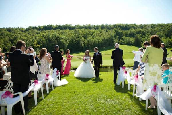 8 Real Wedding: Hot Pink Summer Wedding with DIY Touches