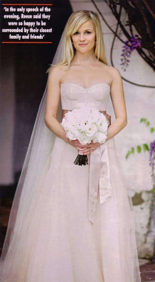 Reese Witherspoon's Wedding Dress