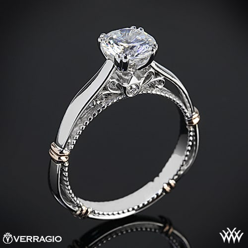 White Flash Diamond Ring