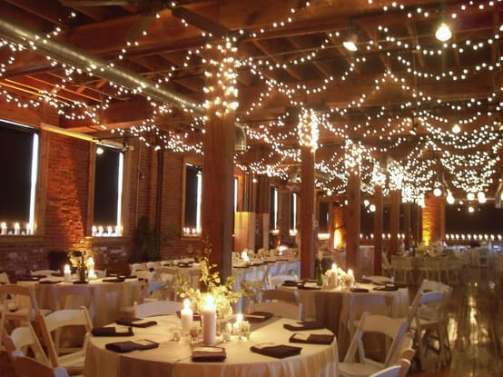 Wedding Decor: Twinkling Lights
