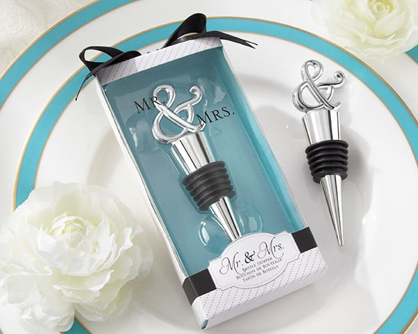 Bottle Stopper Wedding Favor