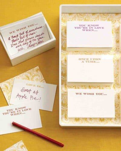 Wedding Games For Guests: Classic Bridal Shower Games