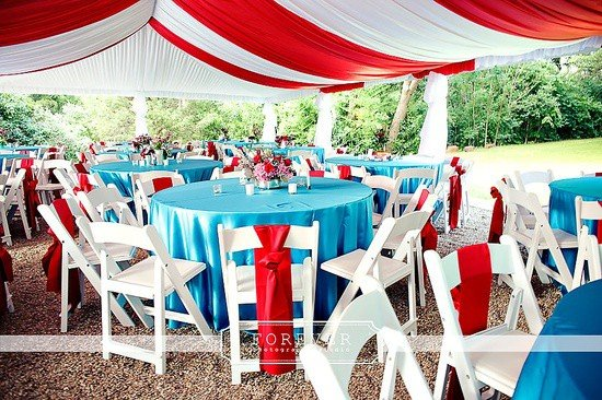 Carnival Wedding Decor