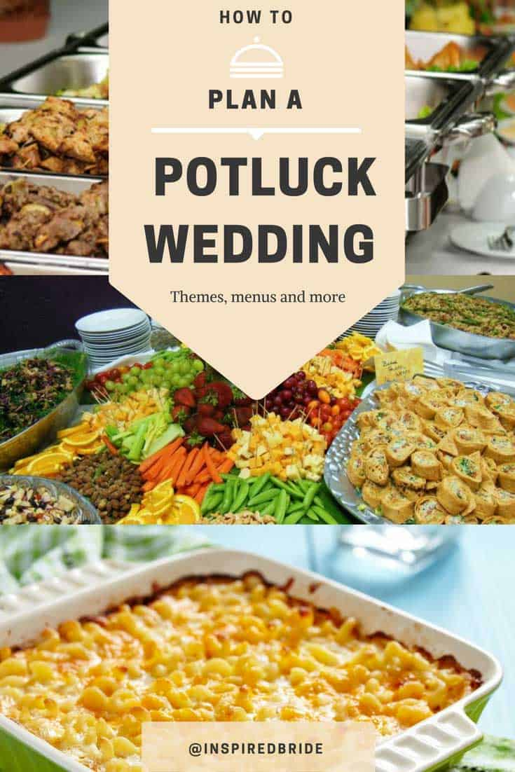 253318484c51 How to Plan a Potluck Wedding - Inspired Bride