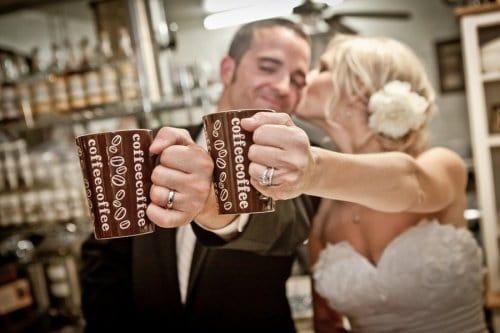 Coffee Shop Wedding