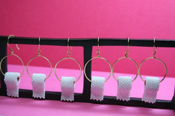 Toilet Paper Earrings