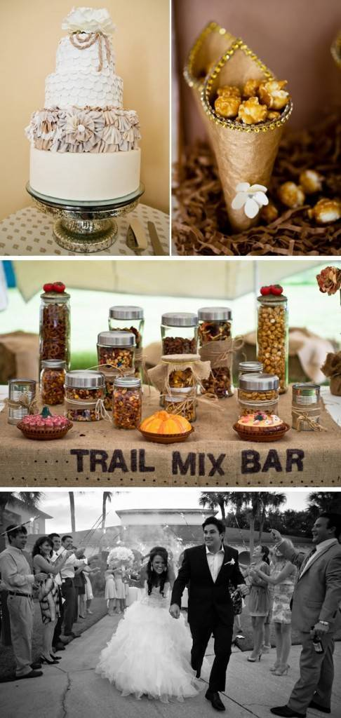 Trail Mix Bar: Cute Cocktail Bar Accompaniment