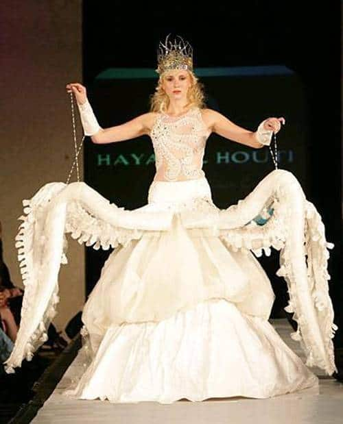 Octopus Wedding Dress
