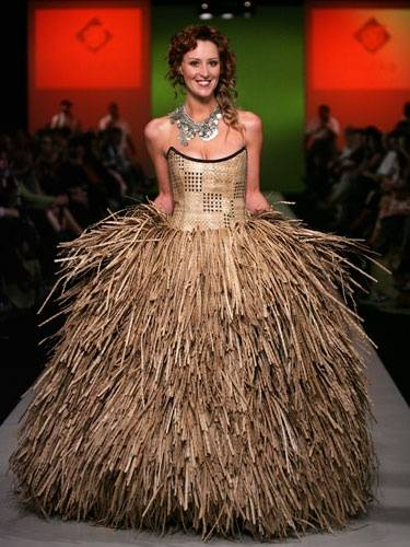 Scarecrow Wedding Dress