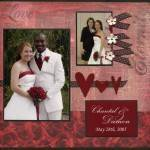 Wedding Photo Book: Beautiful Wedding Gift Idea for Your Wife