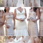 Matching Bridesmaid Dresses