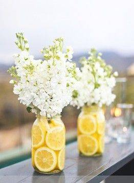 Flower and Fruit Decor