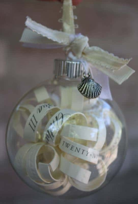 Wedding Vow Ornament