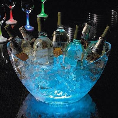 Glow in the Dark Drink Station