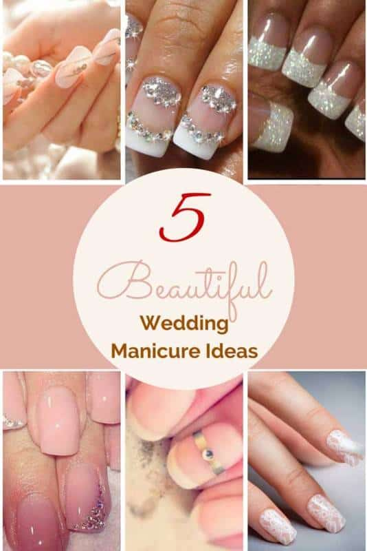 Beautiful Wedding Manicure Ideas