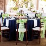 Fall Wedding Palette: Navy and Lime