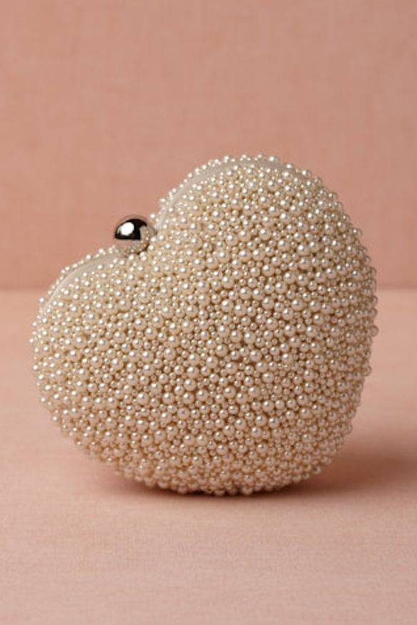 Pearl Encrusted Clutch