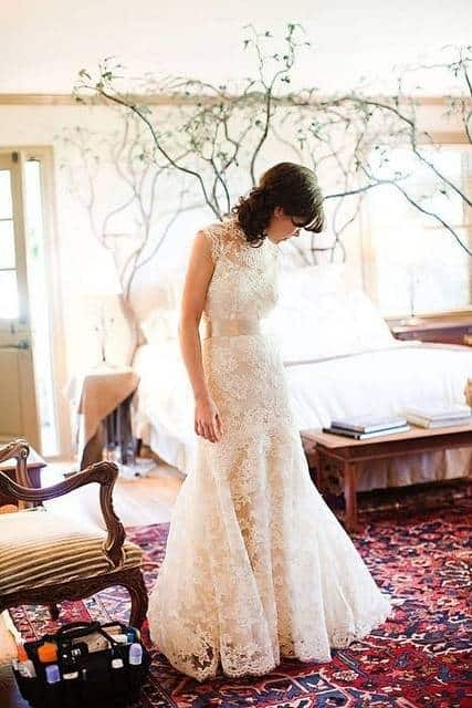 Romantic Vintage Lace Dress