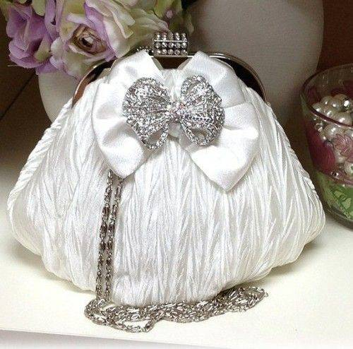 Chic Bridal Clutch