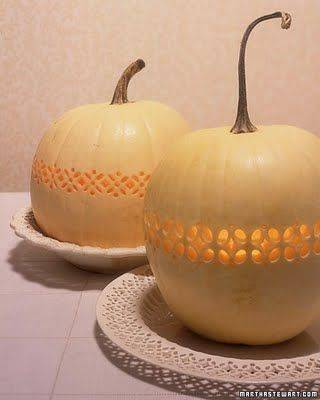 White Pumpkin Wedding Decor
