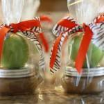 Delicious Wedding Shower Favors for Fall: Apple Caramel Favors