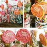 Mason Jar Candy Buffet