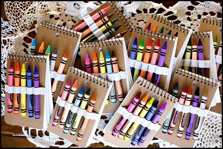 Crayon and Book Pack for Kids