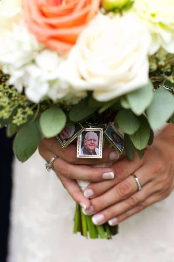 Bridal Bouquet Photo Charms