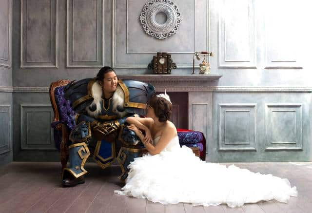 A Glorious World Of Warcraft Wedding