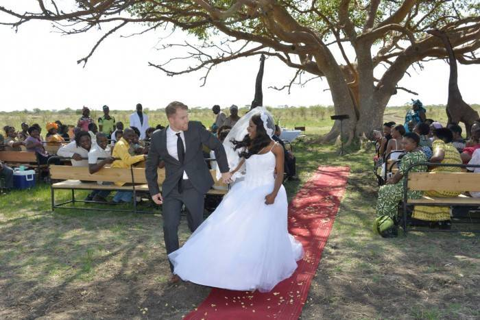 Beautiful African Wedding