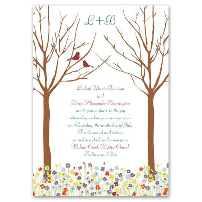 LoveSprings Budget Friendly Wedding Invitations from Anns Bridal Bargains