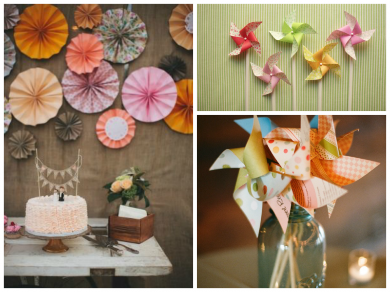 Pinwheels 800x600 Summer DIY Wedding Ideas