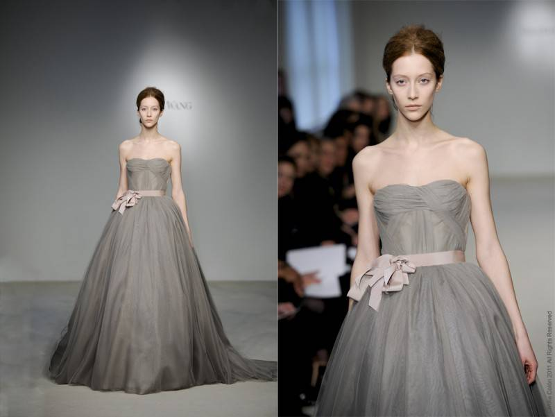 5 Beautiful Colored Wedding Dresses