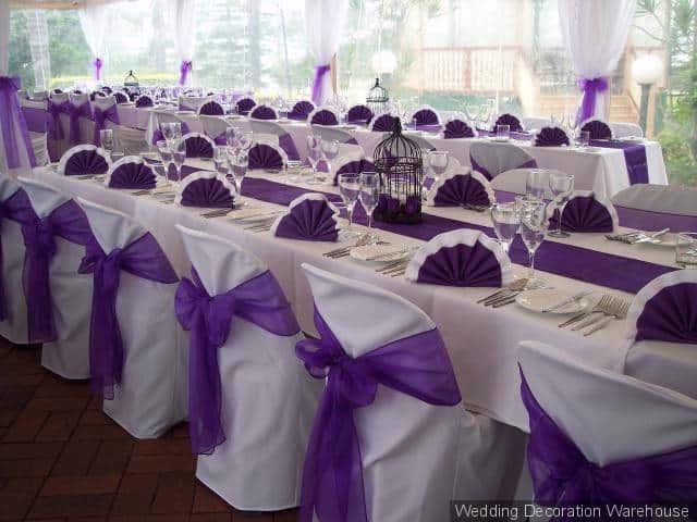 Purple Ideas For Weddings: Stunning Purple Wedding Theme Ideas