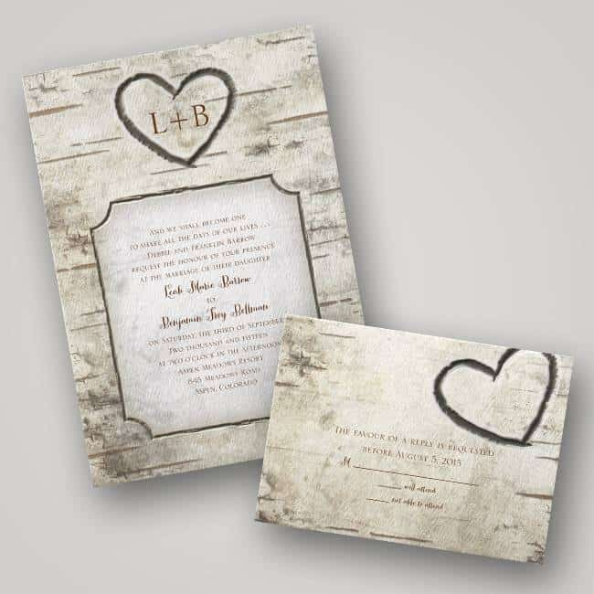 DWF13232 Autumn Wedding Invitations by Invitations by Dawn