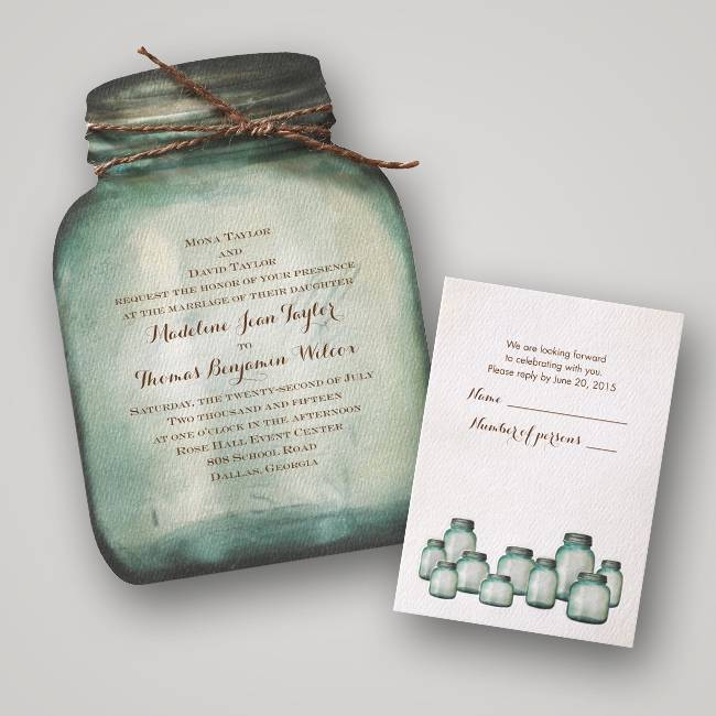 DWF13243 Autumn Wedding Invitations by Invitations by Dawn