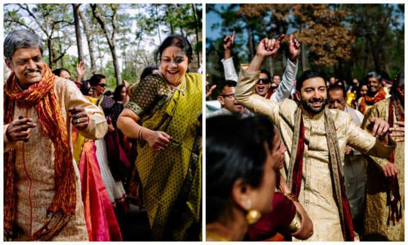 4groom A Joyful Outdoor Indian Wedding   Simply Gorgeous
