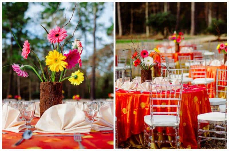 8flowers A Joyful Outdoor Indian Wedding   Simply Gorgeous