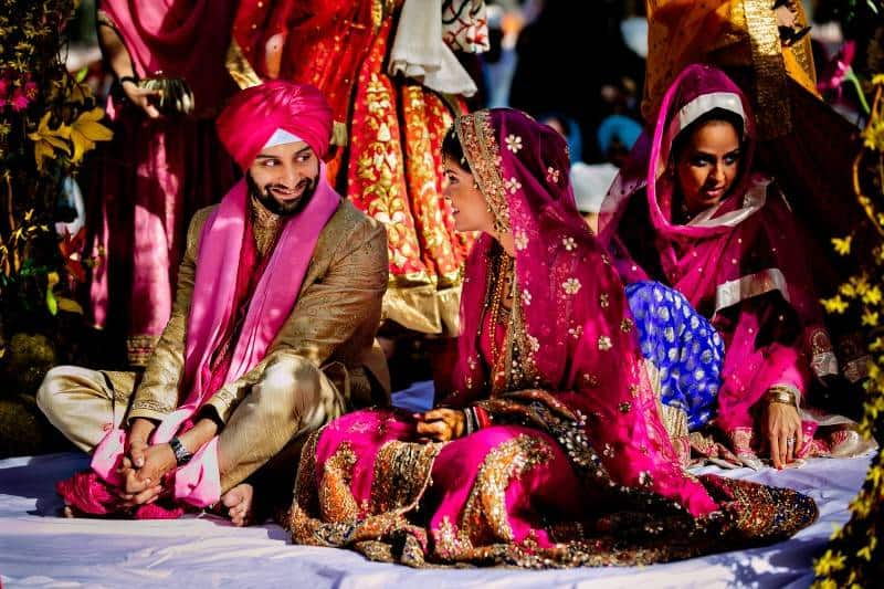 Singh Bhatt Caroline  Ben Photography submission35 A Joyful Outdoor Indian Wedding   Simply Gorgeous