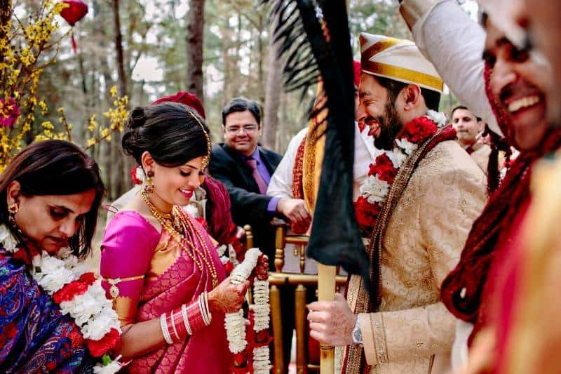 Singh Bhatt Caroline  Ben Photography submission61 A Joyful Outdoor Indian Wedding   Simply Gorgeous