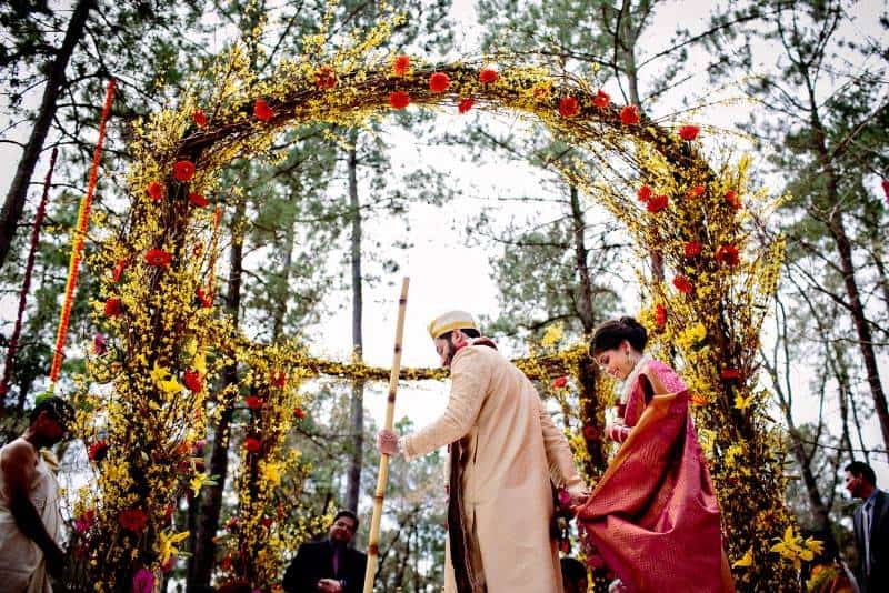 Singh Bhatt Caroline  Ben Photography submission66 A Joyful Outdoor Indian Wedding   Simply Gorgeous