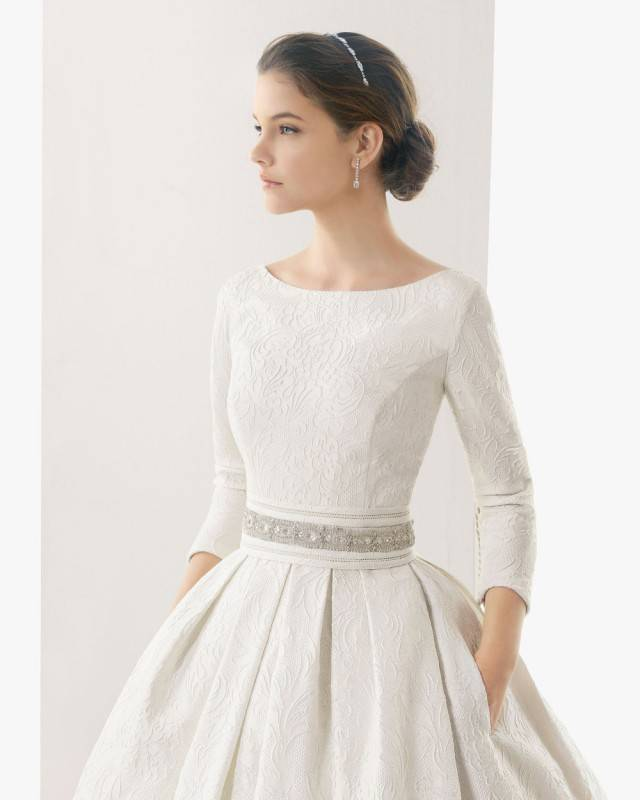 5 Gorgeous Long Sleeved Wedding Dresses You Will Love