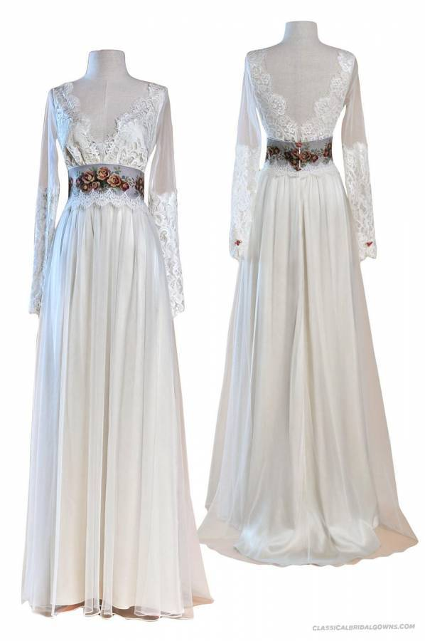 Gorgeous Long Sleeved Wedding Dresses You Will Love