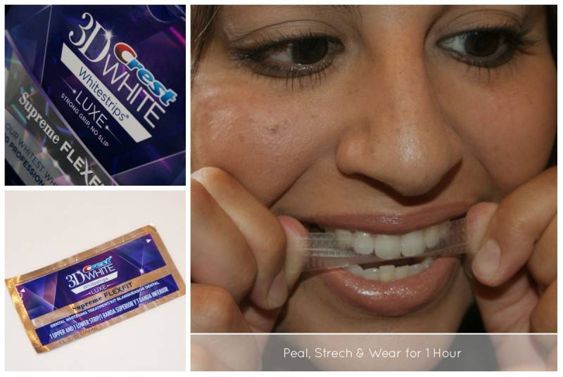 Crest 3D Whitestrips - Demo