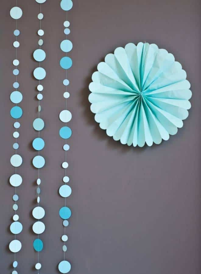 DIY DOT Garland 4 Amazing Wedding DIYs You Can Complete in a Day