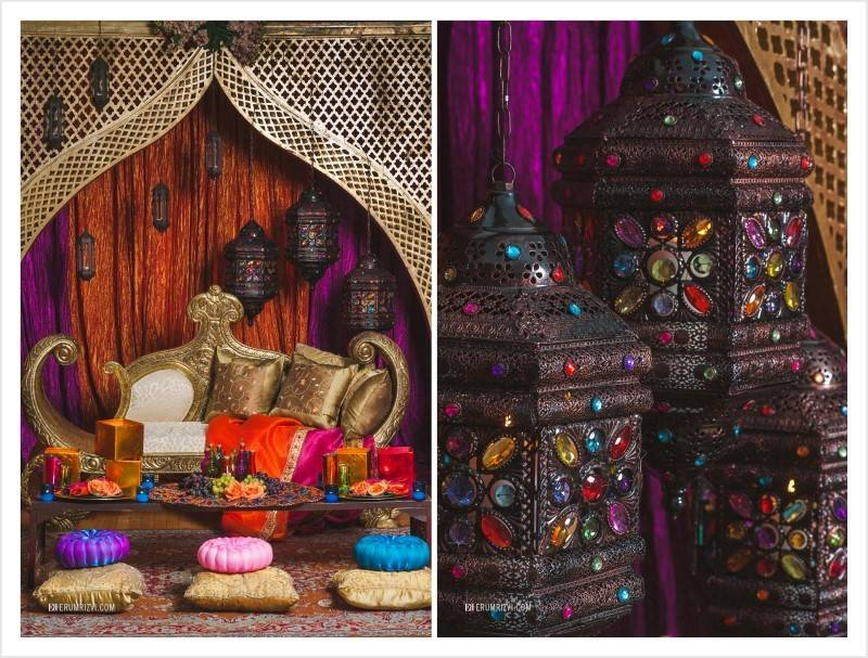 Gorgeous Moroccan Wedding Theme