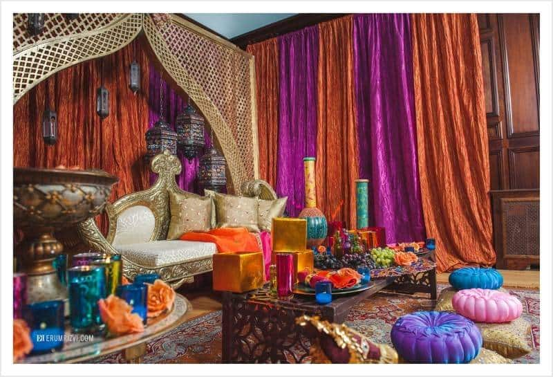 decor2 Gorgeous Moroccan Wedding Theme
