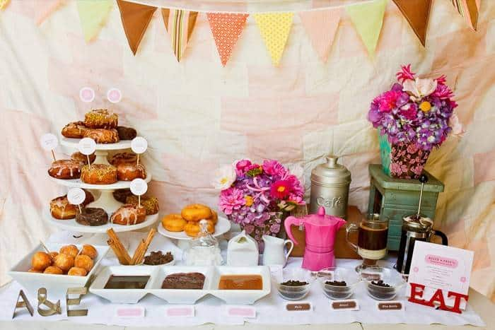 Most Popular Wedding Foods of 2014